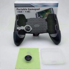 Giá siêu sốc Tay cầm chơi game Liên Quân,PUPG kiêm giá đỡ điện thoại có nút bấm – Gamepad ( Tặng 2 Nút joystick)