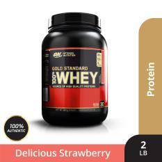 Thực phẩm bổ sung Optimum Nutrition Gold Standard 100% Whey Delicious Strawberry 2 lbs