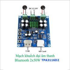 Mạch khuếch đại âm thanh Bluetooth 2x50W – TPA3116D2