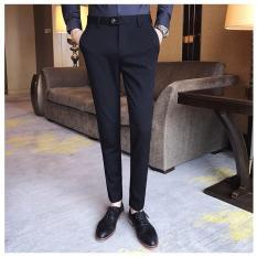 Quần âu (Quần tây) công sở dáng body Hàn Quốc thời trang cao cấp Nami – QA01(Đen)