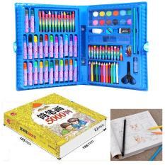 Combo dành cho bé Sách tập tô màu 5000 hình vẽ+Bộ Hộp Màu 86 Món