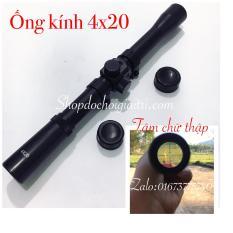 ống kính ngắm 4×20 đa năng giá rẻ hàng chuẩn