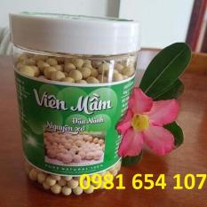 Viên mầm đậu nành nguyên xơ loại 1 500gram