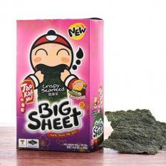 Snack rong biển Big Sheet Taokaenoi vị sốt nhật bản 4g x 12 bịch