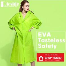 Áo mưa Thời Trang Kiểu Dáng Măng Tô Chất Liệu EVA Siêu Nhẹ và Chống Thấm