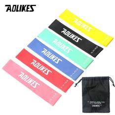 Bộ 6 dây tập thể dục đàn hồi cao cấp Aolikes AL3601 (6 dây)