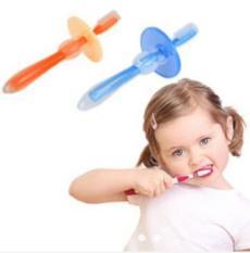Bàn chải silicon cho bé tập đánh răng