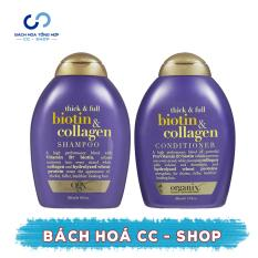 Dầu xả OGX Biotin & Collagen 385ml