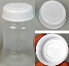 Bộ 2 Nắp tròn xoay trữ sữa mẹ phụ kiện cho bình cổ rộng AVENT, SPECTRA, WESSER, ROZABI