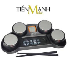 Bộ Trống điện tử Medeli DD60 – Hãng phân phối chính thức (Electronic Portable Digital Drum – Kèm Nguồn, Dùi Trống)