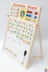 Bảng Gỗ Gắn Chữ Nam Châm cao cấp 2 mặt – Cho bé học mọi nơi mọi lúc
