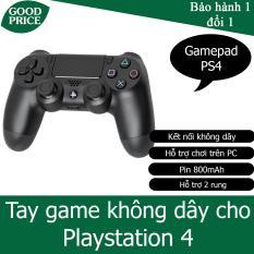 Tay cầm không dây cho Playstation 4, hỗ trợ trên window – HGP PS4LA1