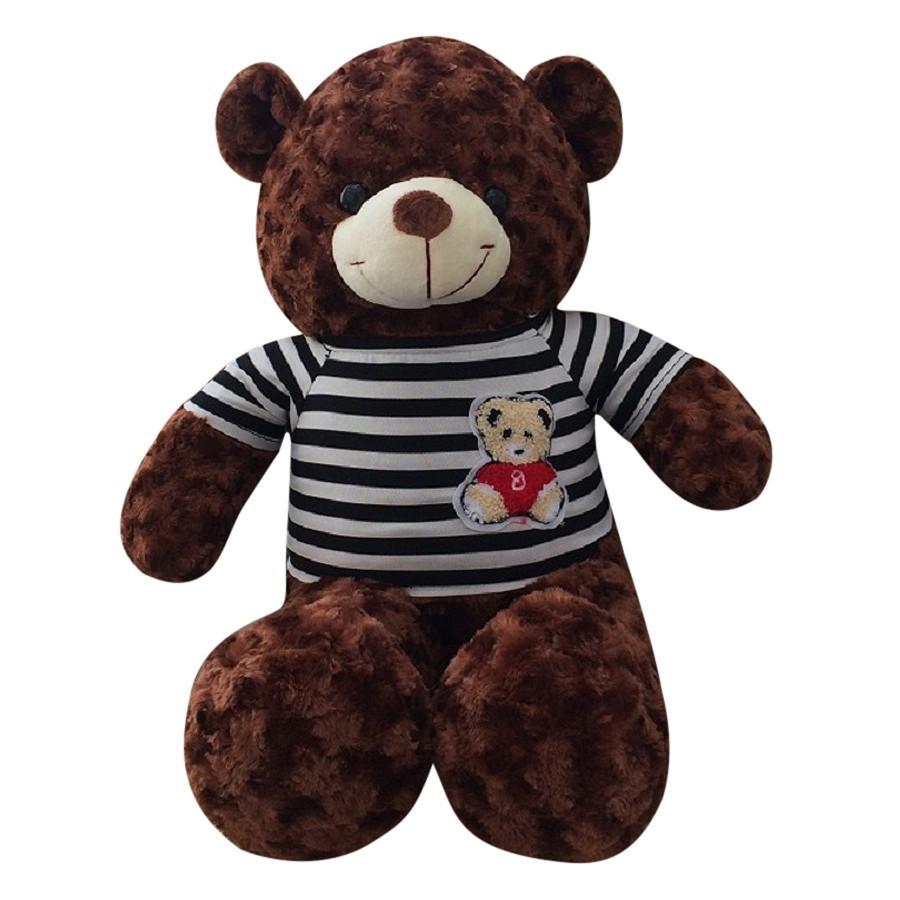 Gấu Bông Teddy Màu Nâu – Khổ vải 1m cao 80cm hàng VNXK