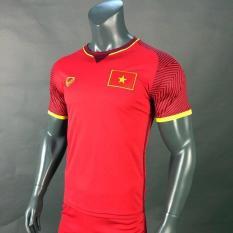 Bộ quần áo bóng đá đồ đá banh tay ngắn đội tuyển U23 Việt Nam màu đỏ