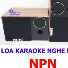 Loa karaoke LOA nghe nhạc gia đình NPN PT2TR hát karaoke hay giá rẻ + 10 mét dây 1.5mm