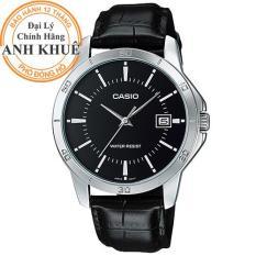 Đồng hồ nam dây da Casio Anh Khuê MTP-V004L-1AUDF