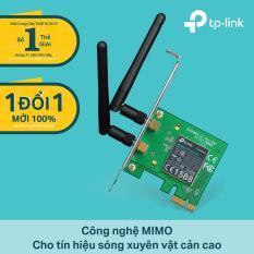 TL-WN881ND – Card mạng WIFI tốc độ 300Mbps chuẩn N, 2 ăng ten, Phiên bản mới nhất v.2, TP-Link bảo hành 2 năm