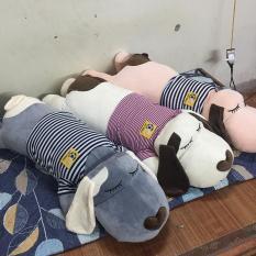 Gấu Bông Gối ôm hình con chó dài siêu đáng yêu size 1m2 – Hàng Việt Nam Cao Cấp