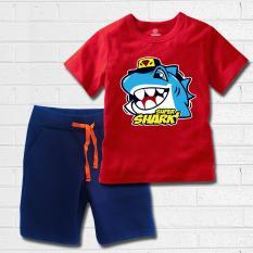 Quần áo bé trai TAMOD in hình Cá mập Supper Shark.