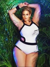 Bikini bigsize cách điệu hở eo big size