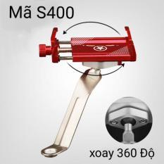 Kẹp xe máy inox S400 – Giá Đỡ Kẹp Điện Thoại Dành Cho Xe Máy S400