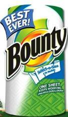 Khăn giấy Bounty – Made in USA