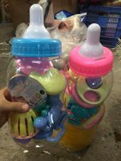 Bộ đồ chơi xúc xắc bình sữa 9 chi tiết cho bé