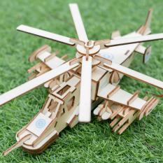 Đồ chơi lắp ráp gỗ – Mô Hình Lắp Ghép Trực Thăng