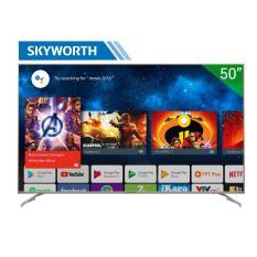 Smart TV LED Skyworth 50 inch 4K Ultra HD – Model 50S7 (Bạc) – Hãng phân phối chính thức