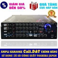 Ampli karaoke Amply nghe nhạc CAO CẤP Cali.D&Y PA-9000D Bluetooth [ Miễn phí Vận Chuyển ]