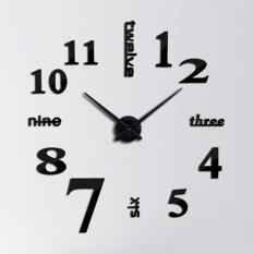 Đồng hồ dán tường nghệ thuật DIY (Lớn) – Three-six-nine-twele