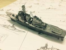 Mô hình kim loại lắp ghép trang trí trưng bày3D Tàu Chiến Kongo bằng thép không gỉ (tặng dụng cụ lắp ghép khi mua 2 bộ bất kì)