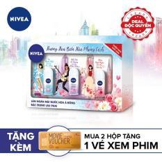 [PHIÊN BẢN GIỚI HẠN] Hộp quà 3 chai lăn khử mùi Magic Nivea 25ml (Mua 2 sản phẩm tặng 1 vé xem phim thả ga tại Galaxy Cinema)