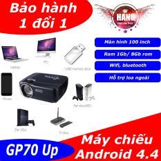 Máy chiếu mini có loa ngoài chạy android LJD GP70 Up
