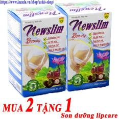 Bộ 2 hộp Viên uống Newslim Beauty giảm cân đẹp da 30 viên