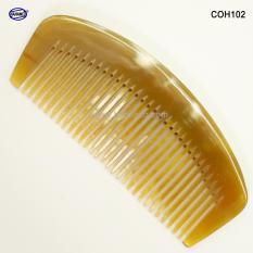 Lược sừng xuất Nhật – COH102 (Size: M – 13cm) Lược múi bưởi – Horn Comb of HAHANCO – Chăm sóc tóc
