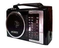 Radio chuyên dụng Sony SW-601UAR 4 band-Tặng dây sạc chuyên chuyên dụng
