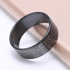 Nhẫn Nam TITAN Simple Style Phong Cách Hiện Đại Cực Đẹp BS RING 015, Tùy Chọn Màu Sắc