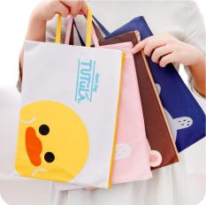 Túi đeo tay nữ bằng vải cao cấp – thời trang Hàn Quốc