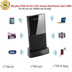 Bộ phát Wifi 3G/4G LTE Alcatel OneTouch Link Y800 -Tốc độ cực cao 100Mb cực ổn định