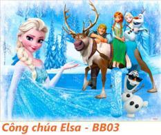Tranh ghép gỗ 60 miếng – Công chúa Elsa