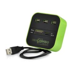 Đầu đọc USB 2.0 kiêm thẻ nhớ cho máy tính, PC, laptop (Màu ngẫu nhiên)
