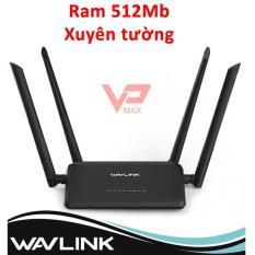 Bộ phát Wifi Xuyên Tường – Router Wifi Wavlink WN 532H2 High Power – 4 anten siêu mạnh