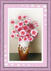 V019 Tranh gắn đá Flowers 19