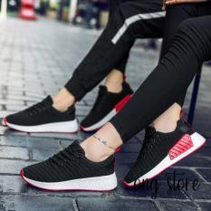 Giày đôi, giày cặp, giày thể thao gân nam nữ đế đỏ