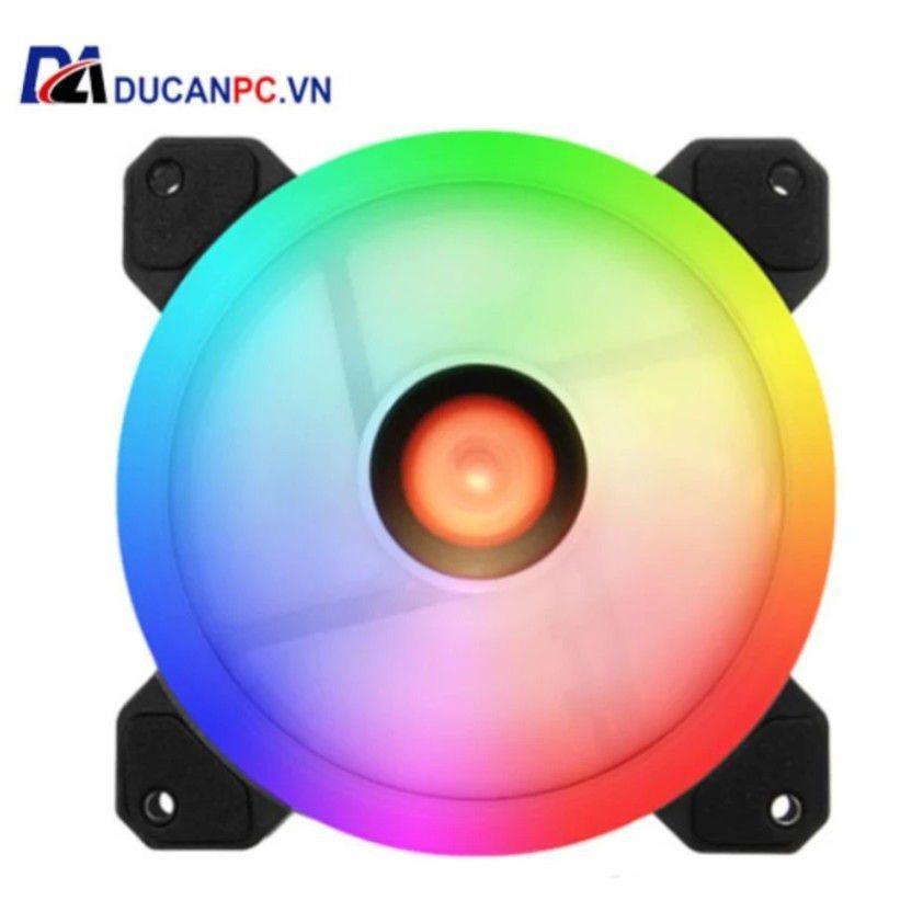 Đánh giá Fan Case Coolman Led RGB Dual Ring – 16 Triệu màu, 366 Hiệu Ứng Tại Đức An PC