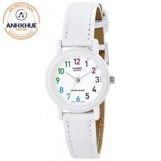 Đồng hồ nữ dây da Casio LQ-139L-7BDF (Trắng)