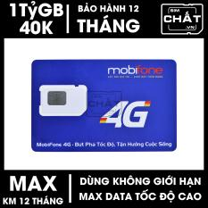 SIM 4G MAX DATA Mobifone F120WF 1 Tỷ GB/Tháng – SIM CHẤT
