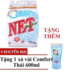 [1 TẶNG 1] Bột giặt Net Extra siêu sạch 6kg TẶNG Comfort 580ml