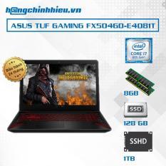 Laptop ASUS TUF Gaming FX504GD-E4081T i7-8750H, NVIDIA GTX 1050 4GB GDDR5, 15'6 Full HD,Window 10- Hãng phân phối chính thức